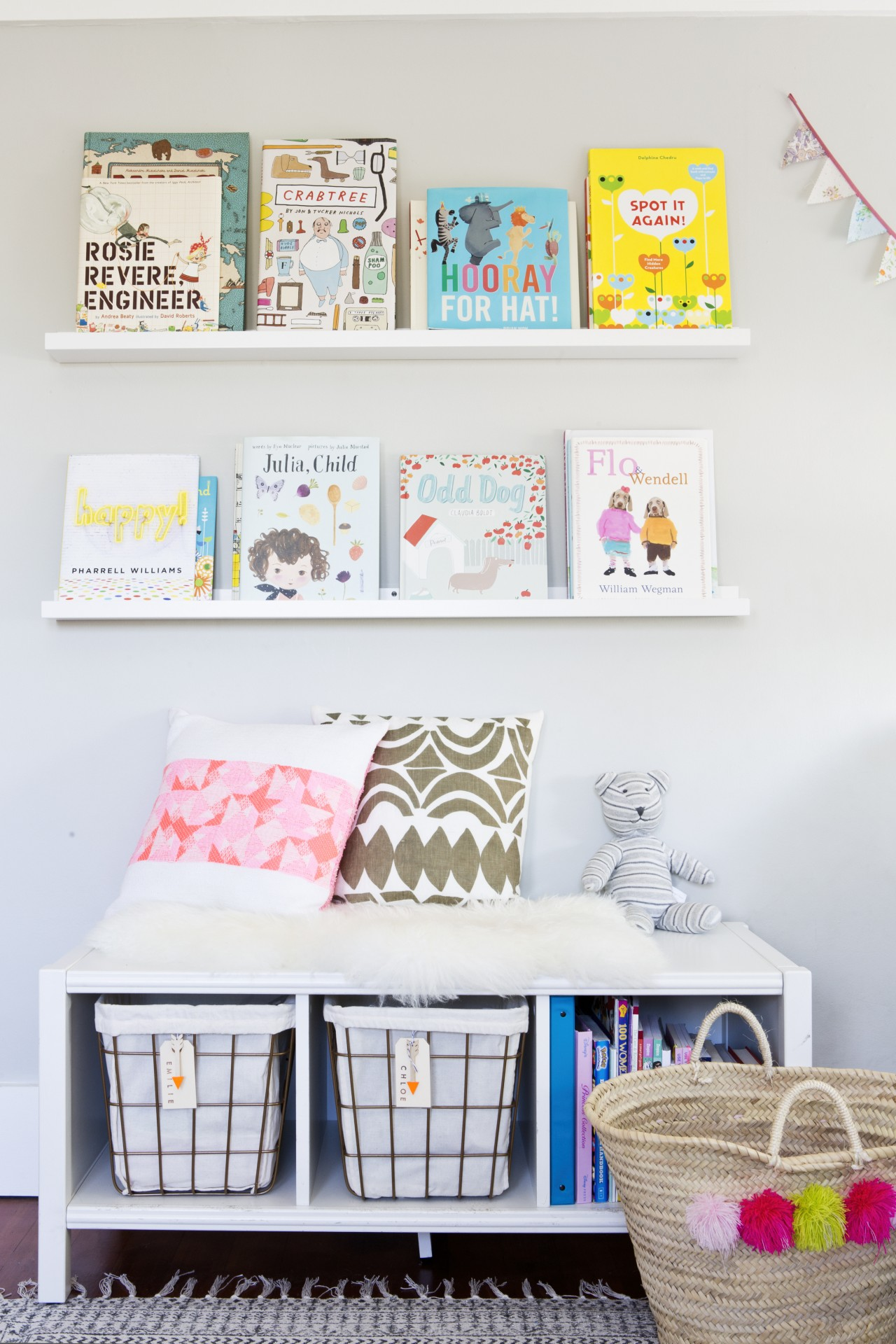In our Ask an Organizer: Kid Edition 2! parents will learn how to organize art and toys in children's rooms.