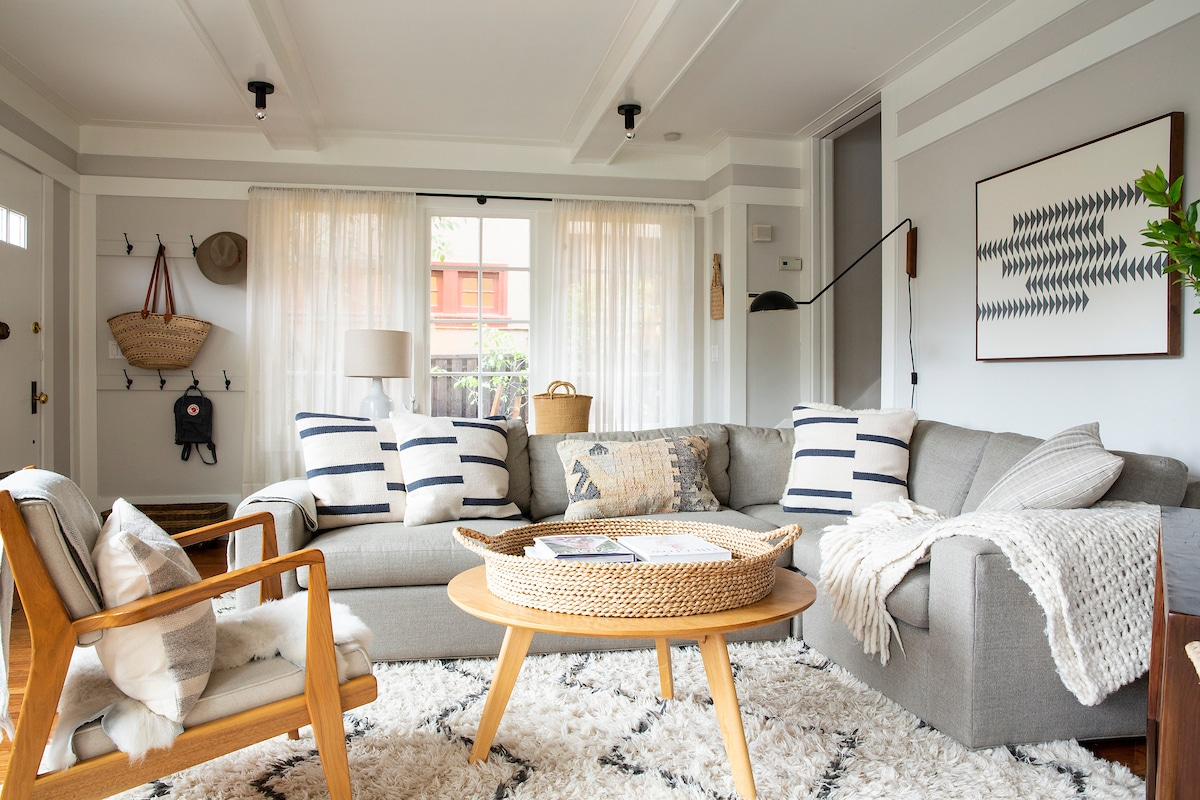 Before the Living Room Refresh by Shira Gill Home