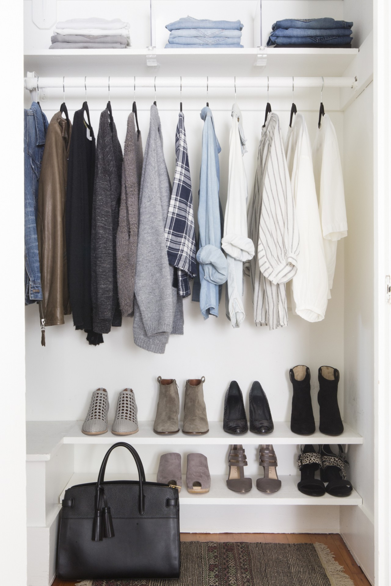 Sign up for a closet makeover workshop with Shira Gill and learn how to organize your closet and create a personal style.