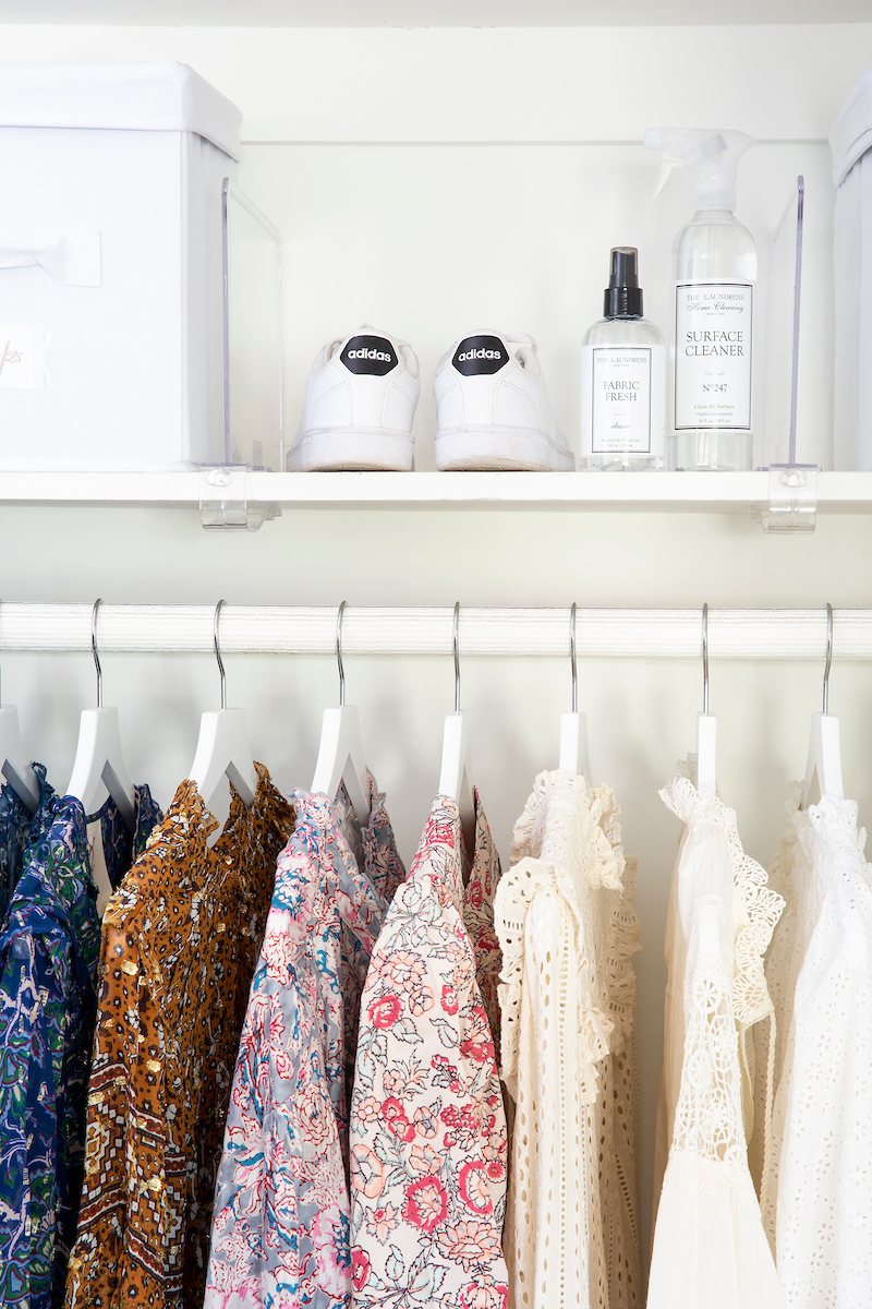 A Closet Refresh w/ The Laundress