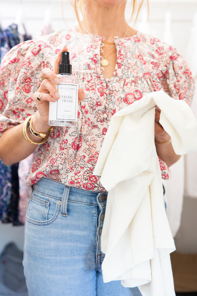 Give Your Clothes a Little Refresh with Fabric Fresh Classic Spray from The Laundress