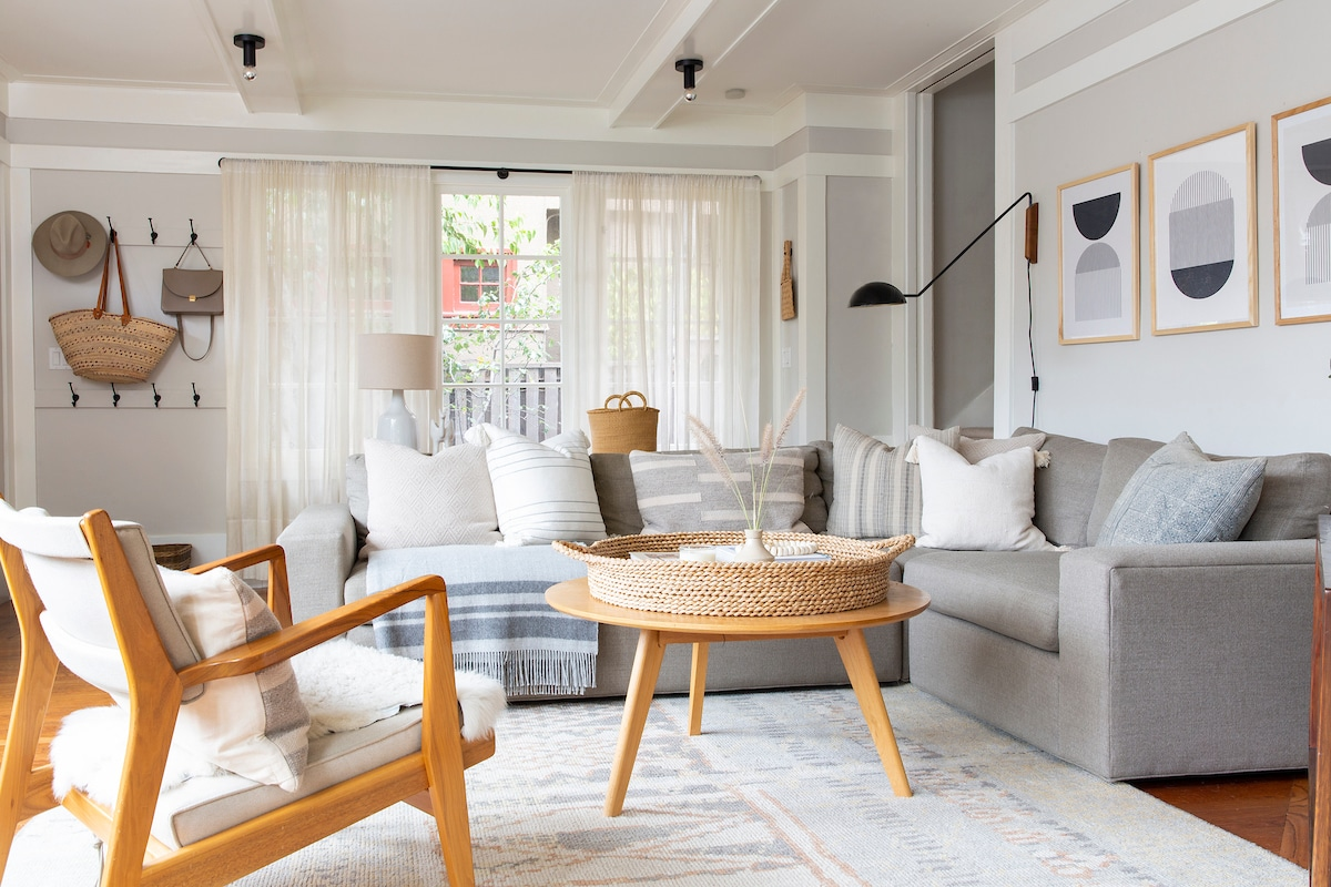 After the Living Room Refresh by Shira Gill Home
