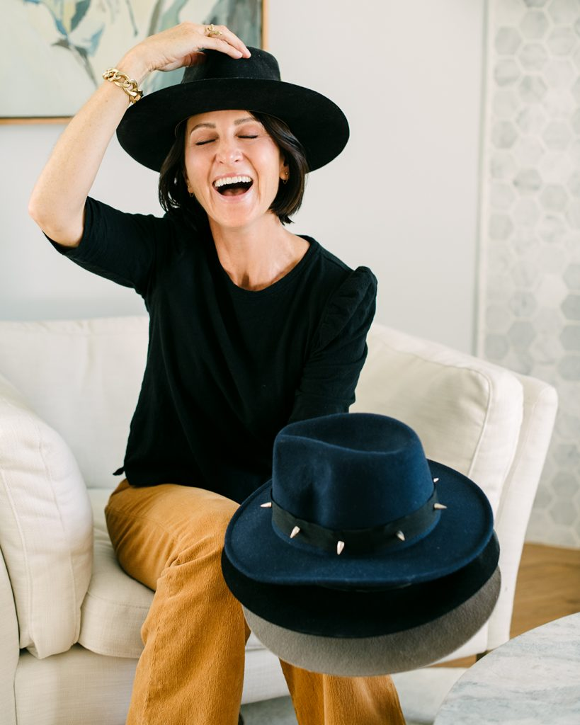 Tanya Monaghan, style influencer, was one of the first people to sign up for the Virtual Closet Makeover Program.