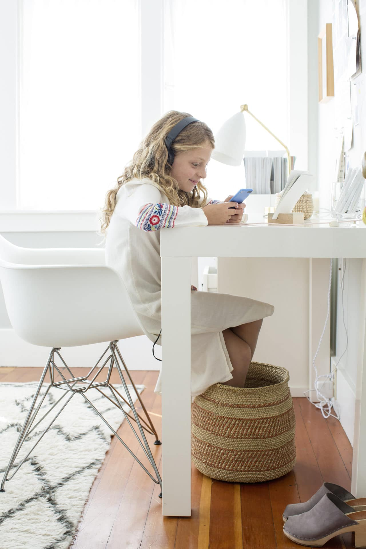 Working from Home with Kids by Shira Gill Home